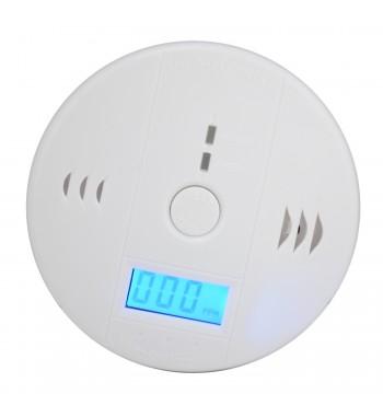 Detector de monoxido para ambientes con alarma