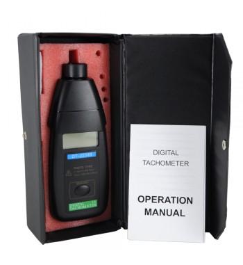 Tacometro Digital Laser Medicion De 2,5 A 99.999 Rpm DT2234B