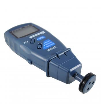 Tacometro Digital Laser y De Contacto Medición En Rpm y...
