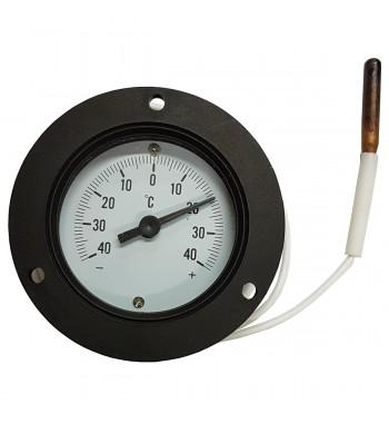 Termometro Redondo Analogico Con Bulbo -40º a +40ºC TJ2-1