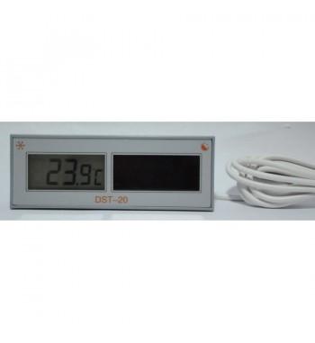 Termometro Digital Con Bulbo Solar -50º a +70ºC DST-20