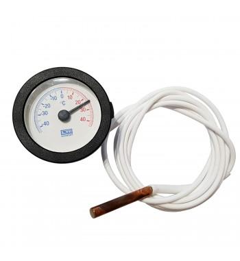 Termometro Redondo Analogico Con Bulbo -40º a +40ºC TM1052K