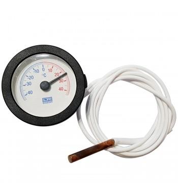 Termometro Redondo Analogico Con Bulbo -40º a +40ºC TM1060K