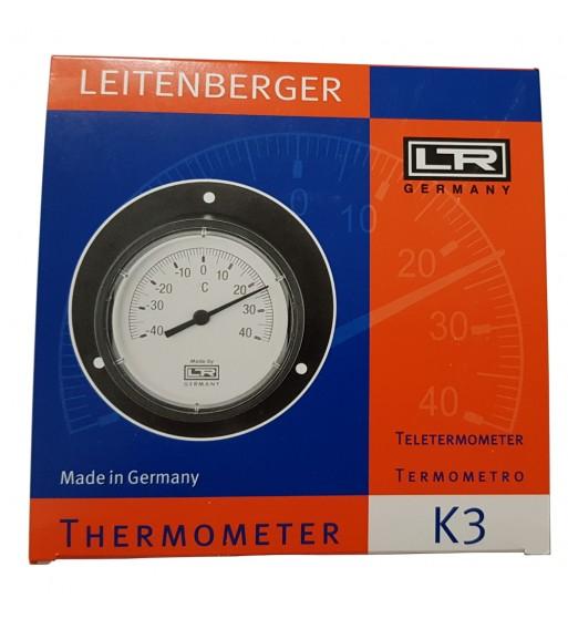 Termometro Redondo Analogico Con Bulbo 40º A 40ºc Tm1100k3 Negro Termometro pincho digital cocina reposteria electroimporta. termometro redondo analogico con bulbo 40º a 40ºc tm1100k3 negro