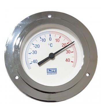 Termometro Redondo Analogico Con Bulbo -40º a +40ºC...