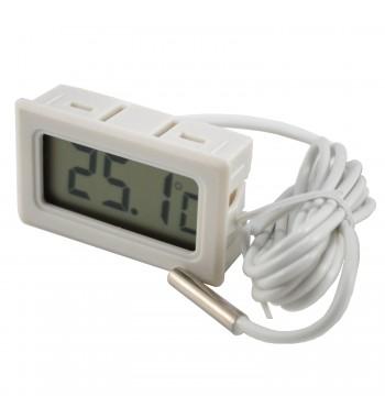 Termometro Digital Con Bulbo -50º a +70ºC TPM-10 Blanco...