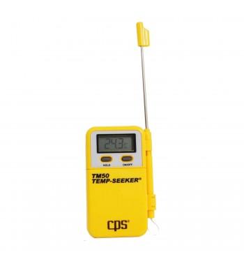 Termometro Digital Con Sonda Pinche -50º a +300ºC CPS TM50