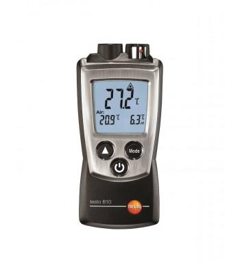 Termometro Dual Por Infrarrojos y Ambiente Testo 810