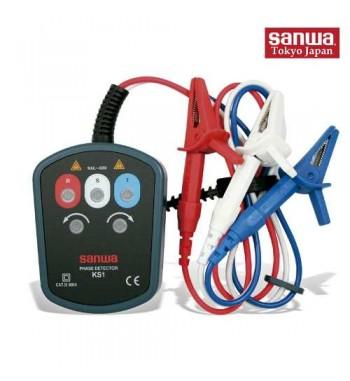 Secuencimetro Detector De Fase y Sentido De Giro Sanwa KS1