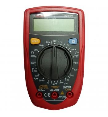 Tester Multimetro Digital BAW Profesional UT-33C