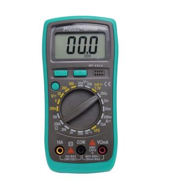 Tester Multimetro Digital Proskit Profesional Luz Hold...