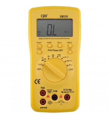 Tester Multimetro Digital AC DC CPS DM350