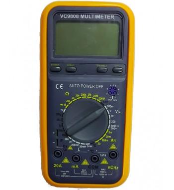 Tester Multimetro Digital Gralf Capacimetro Inductancia...