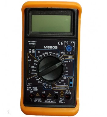 Tester Multimetro Digital Gralf Temperatura Capacidad...