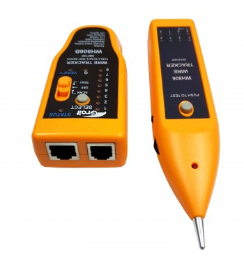 Tester Probador Cable Y Red Viru-Viru Gralf WH806B