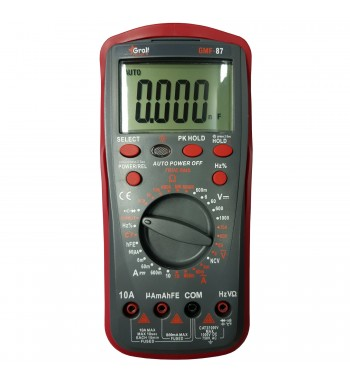 Tester Multimetro Digital Gralf Profesional Premium GMF-87