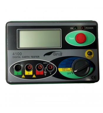 Tester Puesta A Tierra Digital Telurimetro Gralf 4100