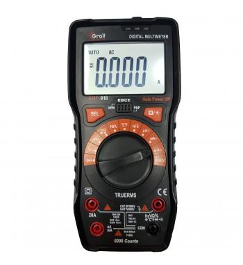 Tester Multimetro Digital Gralf Profesional Premium GMF-91B