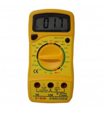 Tester Multimetro Digital ESUN EM820DL