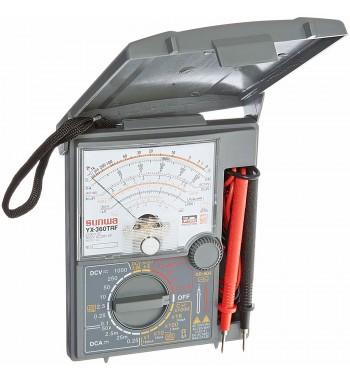 Tester Multimetro Analogico Profesional AC/DC Sanwa YX360TRF