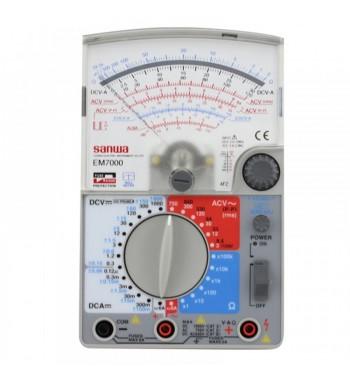 Tester Multimetro Analogico Profesional AC/DC Sanwa EM7000