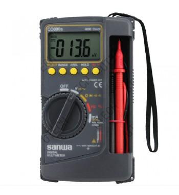 Tester Multimetro Digital Profesional Con Tapa Rigida...