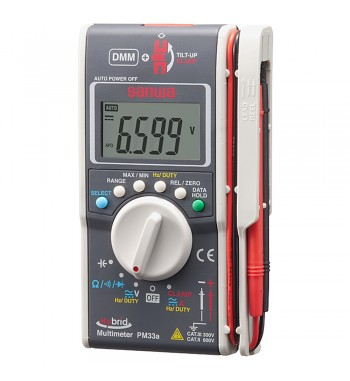 Tester Multimetro Amperimetro Digital Profesional...