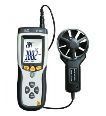 Anemometro Termometro Infrarrojo USB Profeciona CEMl DT-8894