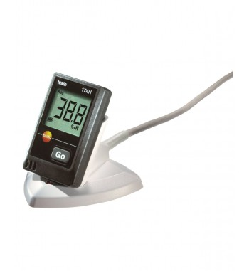Set Data Logger Mini Registrador De Temperatura y humedad...