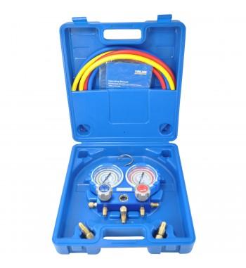 Manifold Value R410a R22 R134a R407C Completo VMG-2-R410A-02