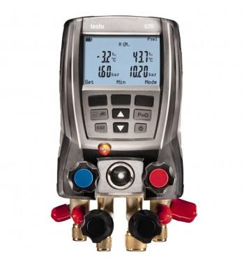 Manifold Digital 4 Vias + 2 Pinzas Temperatura + Valija...