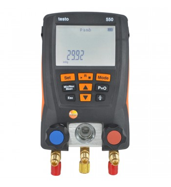 Manifold Digital Con Bluetooth + 2 Pinzas de Temperaturas...