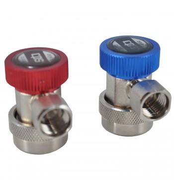 Kit Valvulas de Acople Rápido R134 CPS QCL134 y QCH134