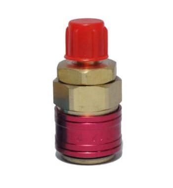 Valvulas de Acople Rapido ALTA R134 salida 1/4 sin llave