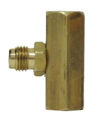 Adaptador Acople de Vacuometro para Bomba de Vacio - M185