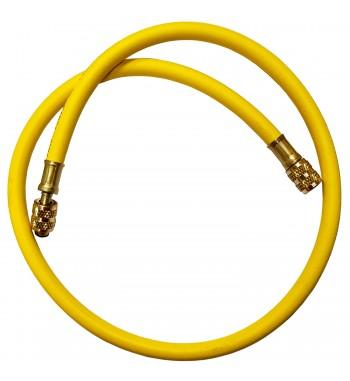 Manguera Amarilla para Refrigeración JR 90cm 500Psi 1/4...