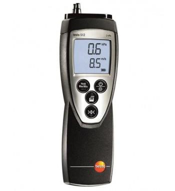 Medidor de presión diferencial de 0?2 hPa testo 512 +...