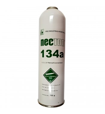Garrafa de Gas R134a Necton Refrigerante 750gr