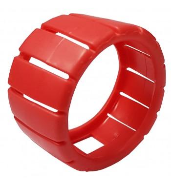 Protector De Goma Rojo Para Manometro De Alta 68mm -JR