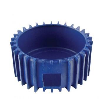 Protector De Goma Azul Para Manometro De Baja 68mm
