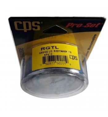 Manometro CPS Baja Refrigeración R22 R134a R404A RGTL