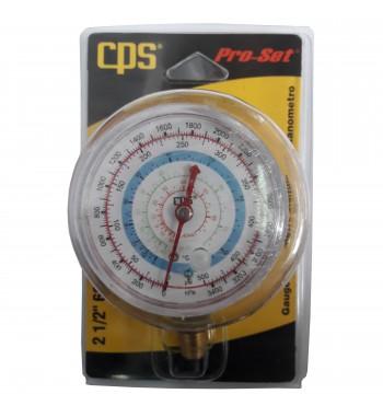 Manometro CPS Alta Refrigeración R22 R134a 404 RGTH