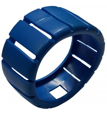 Protector De Goma Azul Para Manometro De Baja 68mm -JR