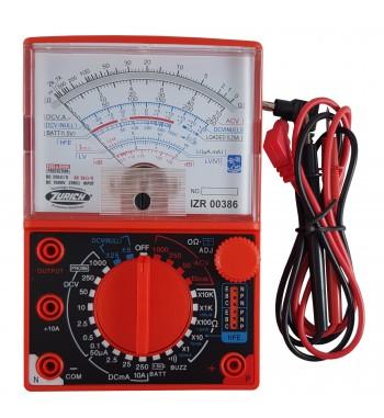 Tester Multimetro Analogico Zurich Ac Dc Resistencia ZR-386