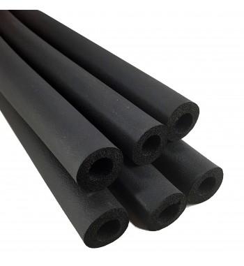 Tubo Aislante Negro por tira de 2 metros 1/4 9mm @
