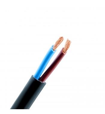 Cable tipo taller por metro de 2x2,5 mm