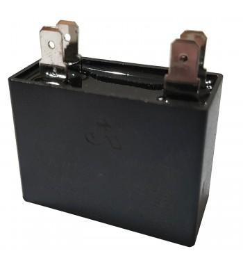 Capacitor de Marcha cuadrado 2,5 uf 450 VAC - JR
