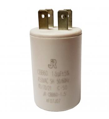 Capacitor de Marcha Plastico 1,5 uf - JR