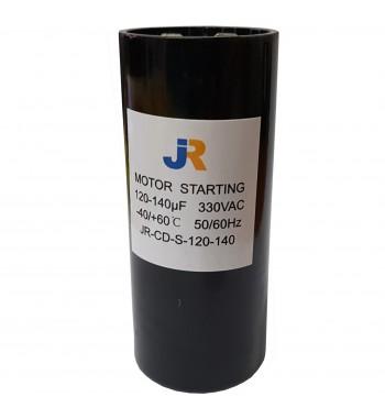 Capacitor de Arranque 330V 120-140 uf - JR