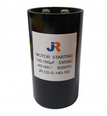Capacitor de Arranque 330V 140-160 uf - JR
